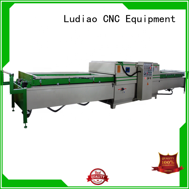 Ludiao mini heat press machine for business for Wood Cabinet Door Production Line
