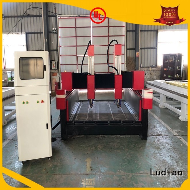 Ludiao rock etching machine company for stone carving