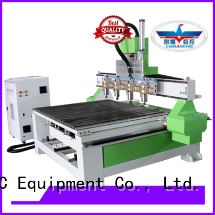 Ludiao tabletop cnc router machine for business for wood cutting