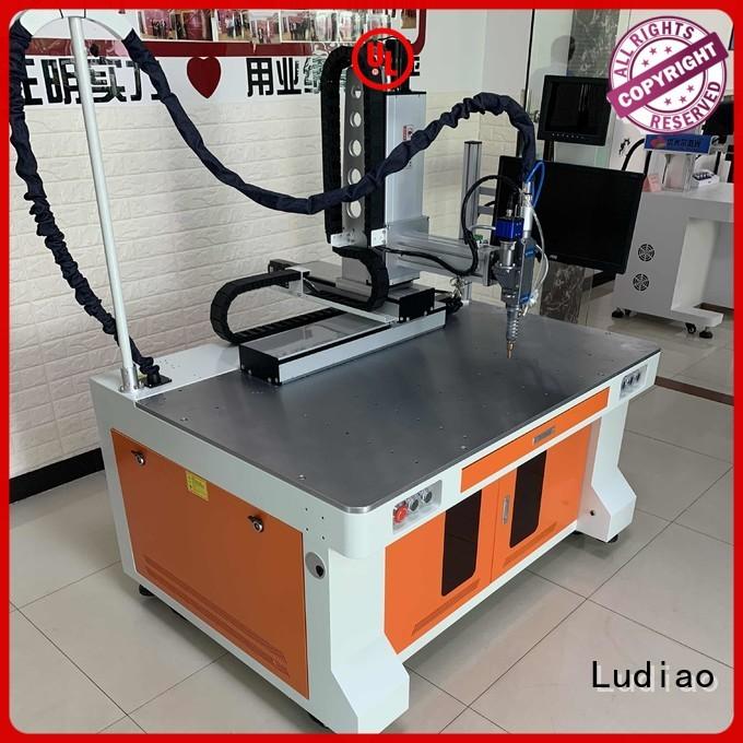 New 20w fiber laser marking machine manufacturers for welding metal materials